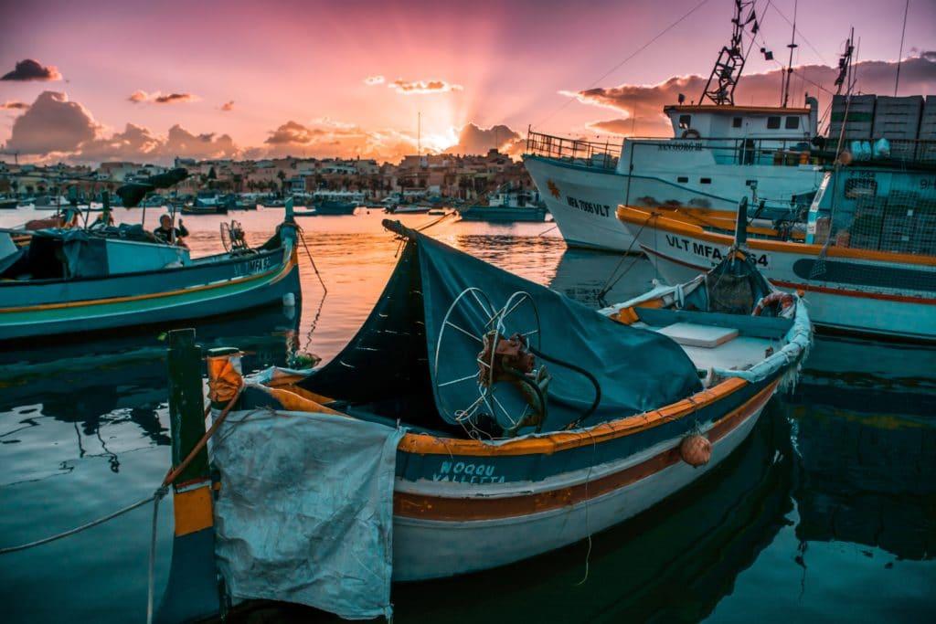 Marsaxlokk fishing boat