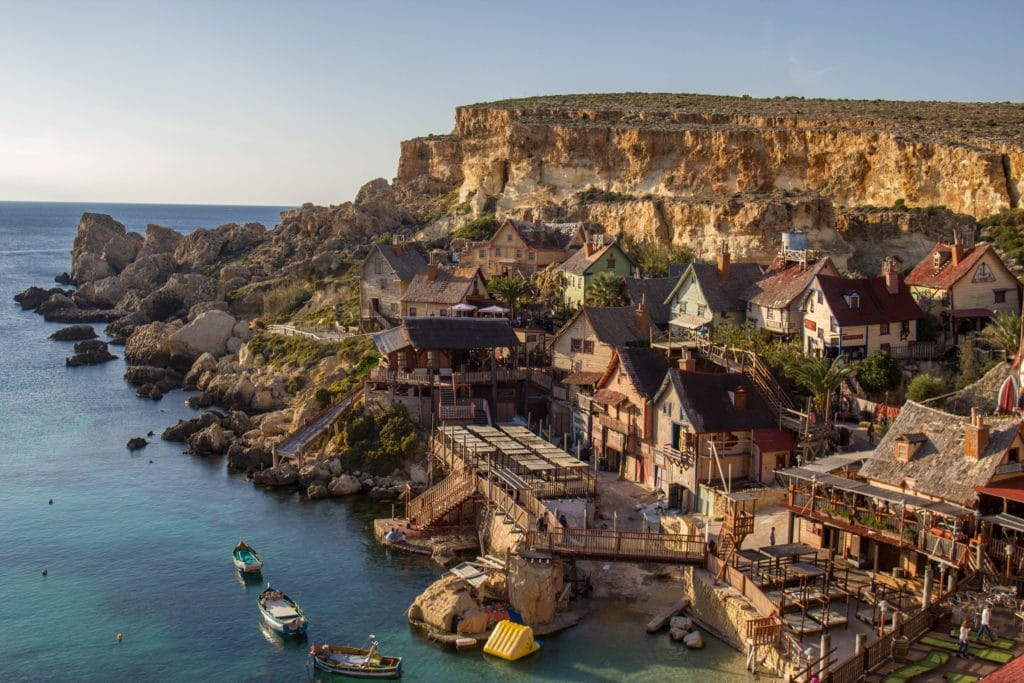 The Popeye Village is a leftover reminder of Robin Williams' time spent filming on the island and the start of Hollywood celebrities living in Malta.