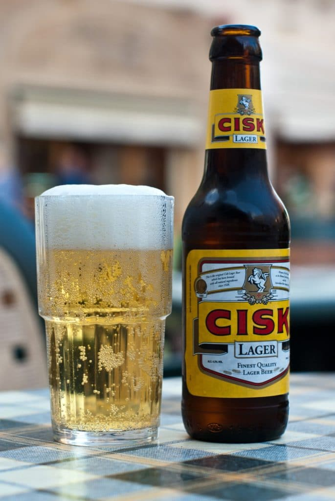 The cost of local Cisk beer is cheap in Malta!