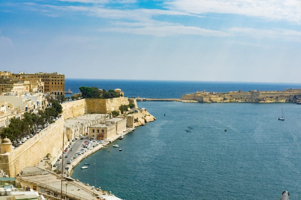 Consider the Three Cities, on the south side of Valetta's harbor, as an underrated place to live in Malta.
