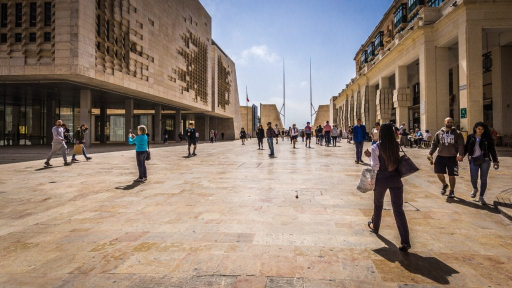 Almost all of the goods and services available in Valletta's popular shopping district (and elsewhere in Malta) have an 18% VAT added as part of Malta's sales tax system.